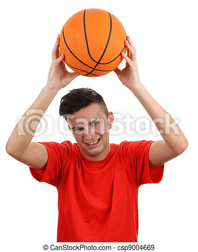 Basket ball player - csp9004669