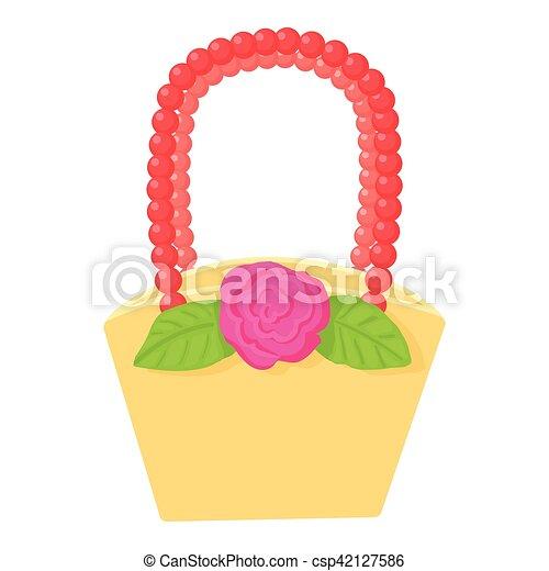 Basket icon, cartoon style - csp42127586