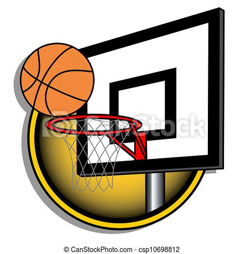 Basket illustration - csp10698812