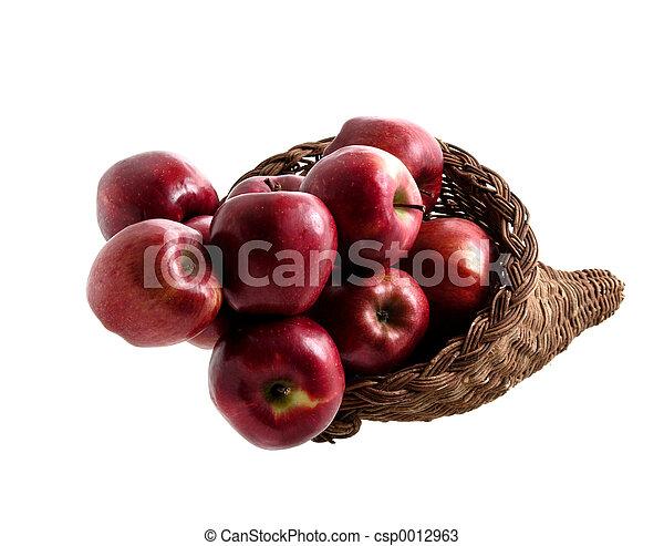 Basket of Apples 2 - csp0012963