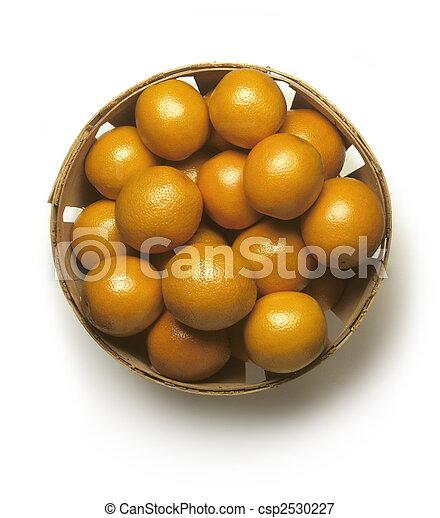 Basket of Oranges - csp2530227