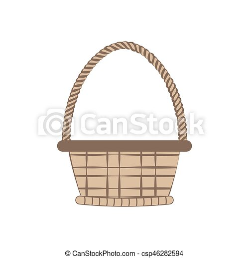 Basket vector illustration - csp46282594