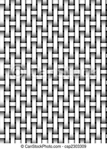 Black And White Basket Weave Pattern