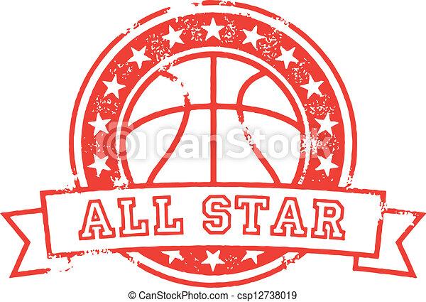 Basketball All Star - csp12738019