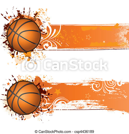 basketball background - csp4436189