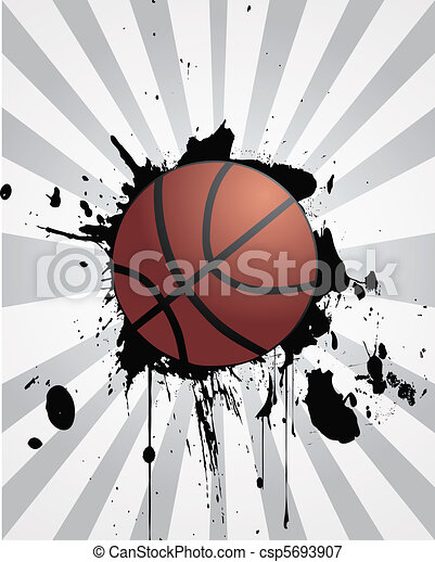 basketball background - csp5693907
