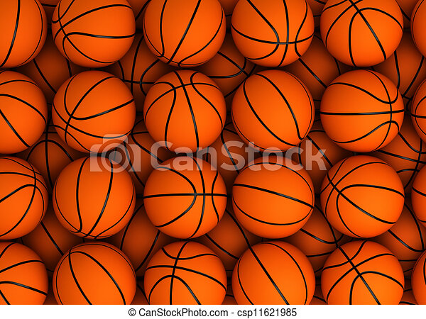 basketball background high resolution computer generated image