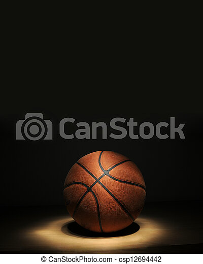 Basketball ball - csp12694442