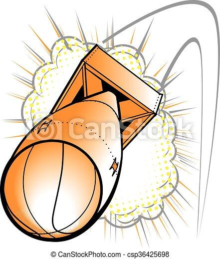 Basketball Bomb - csp36425698