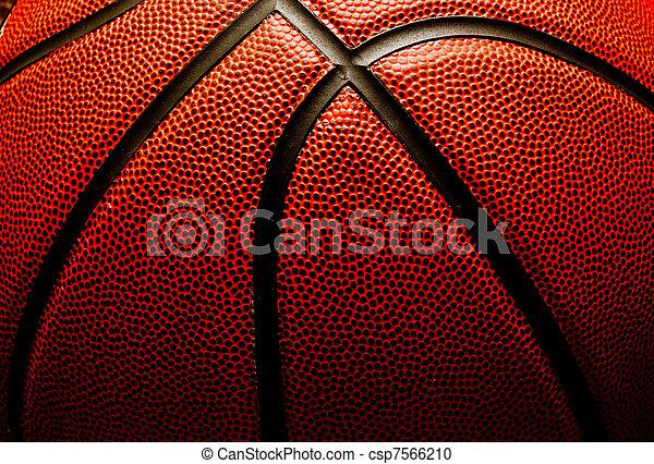 Basketball closeup - csp7566210