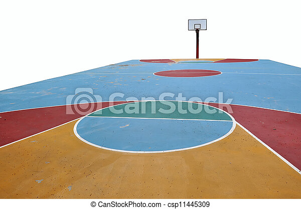 Basketball Gymnasium Clipart