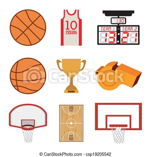 Basketball design - csp19205542
