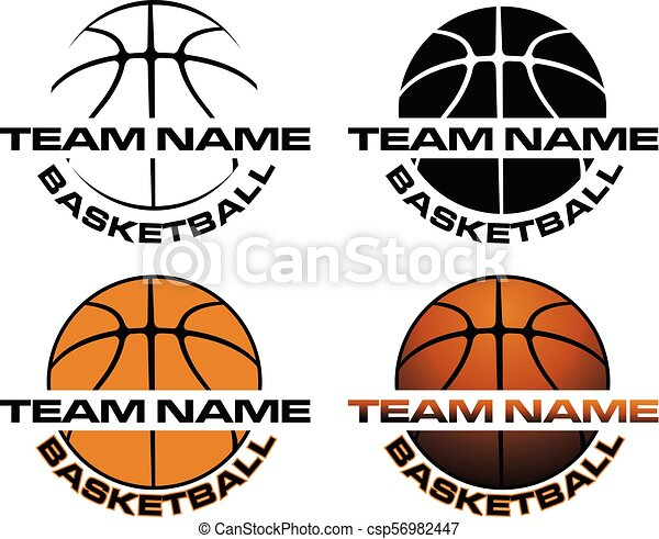 Basketball Designs With Team Name Is An Illustration Is An