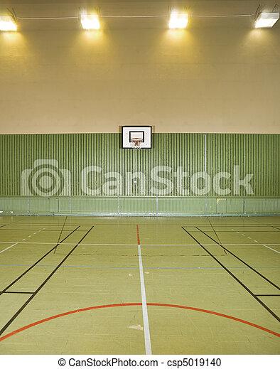 Basketball field - csp5019140