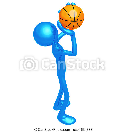 Basketball Free Throw - csp1634333