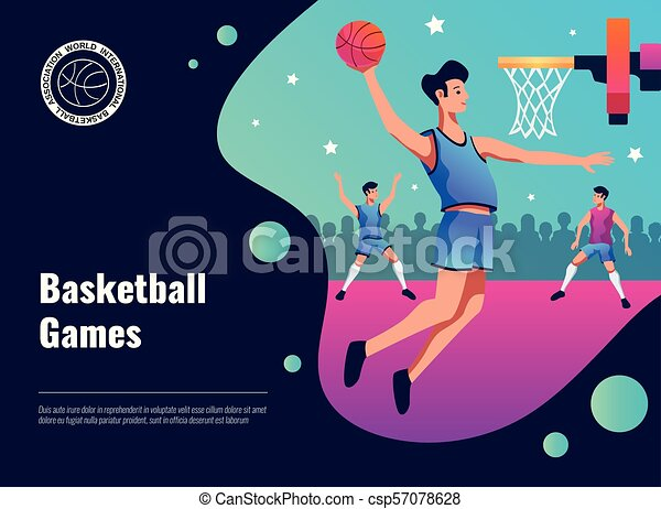 Basketball Games Poster - csp57078628
