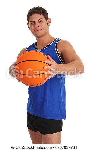 basketball guy - csp7037731