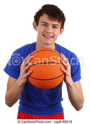 Basketball guy - csp8185518