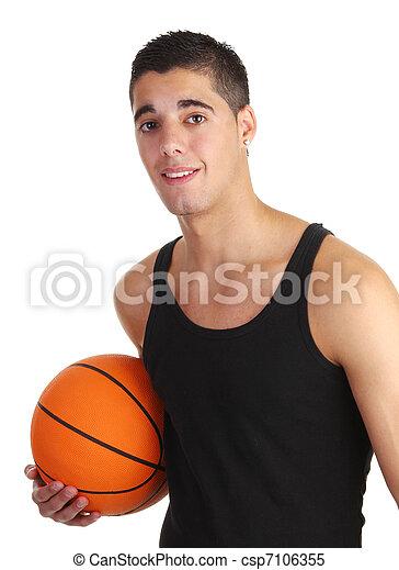 basketball guy - csp7106355