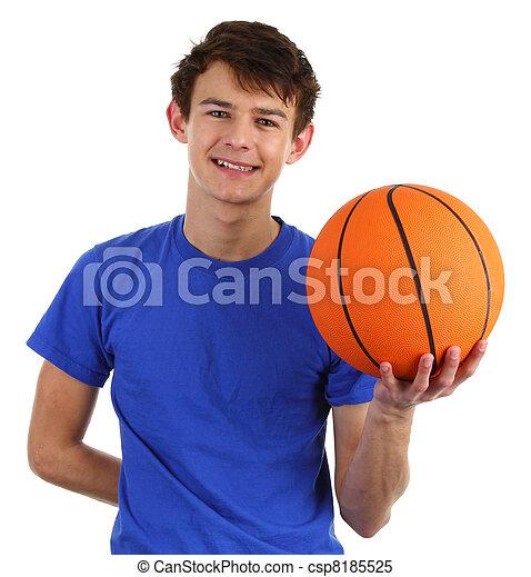 Basketball guy - csp8185525