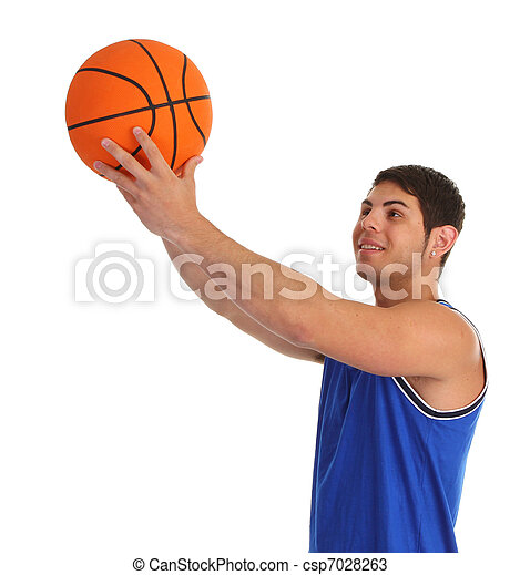 basketball guy - csp7028263