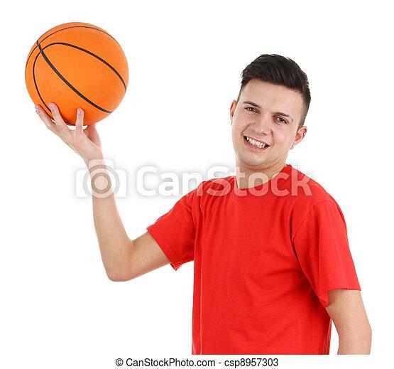 Basketball guy - csp8957303