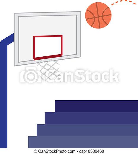 basketball hoop basketball hoop basketball and bleachers clip rh canstockphoto com basketball hoop clipart basketball hoop clipart png