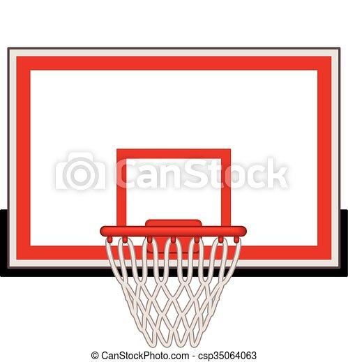 Basketball hoop - csp35064063