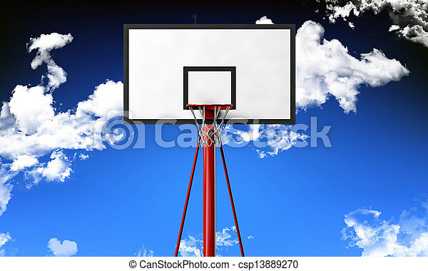 basketball hoop - csp13889270