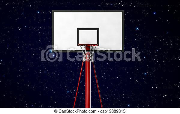 basketball hoop - csp13889315