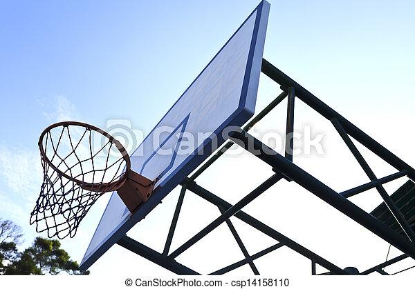 Basketball hoop - csp14158110