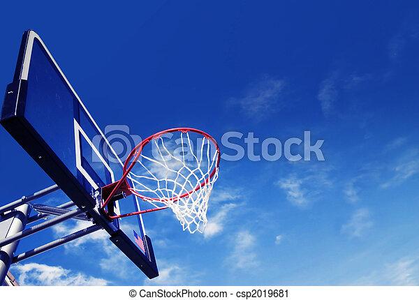 Basketball hoop - csp2019681