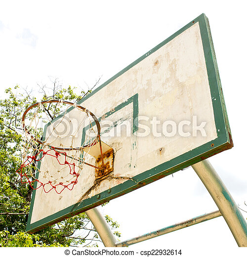 Basketball hoop - csp22932614
