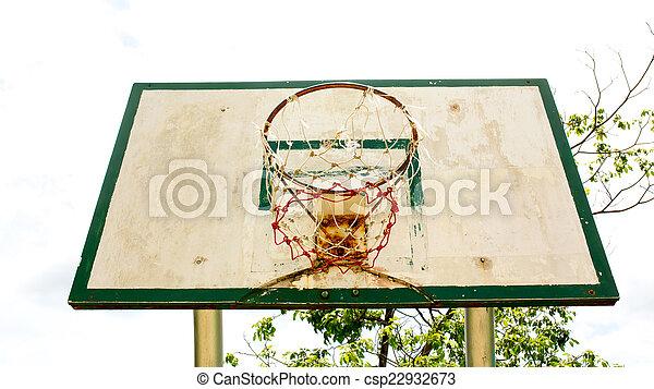 Basketball hoop - csp22932673