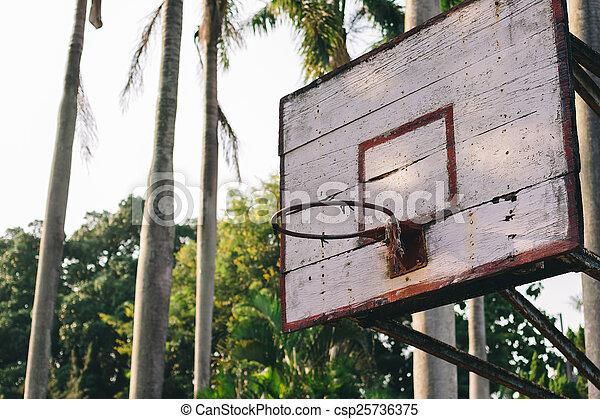 basketball hoop - csp25736375