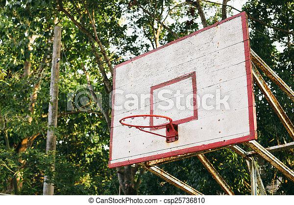 basketball hoop - csp25736810