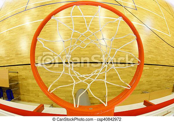 Basketball hoop - csp40842972