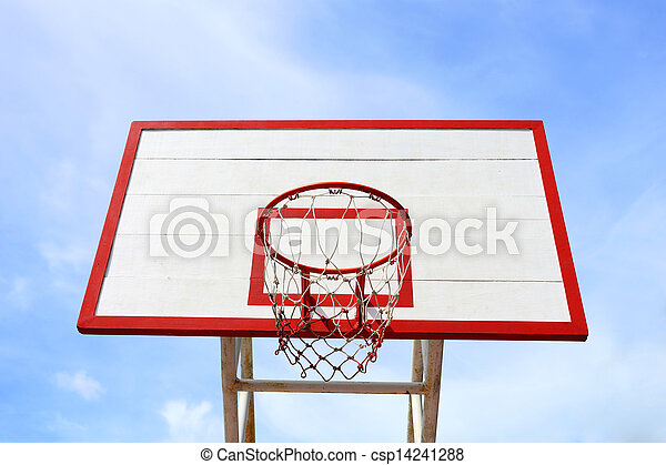 Basketball hoop  - csp14241288