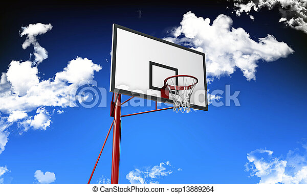 basketball hoop - csp13889264