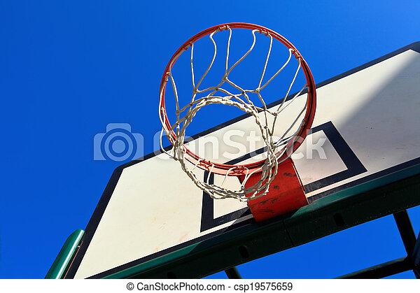Basketball hoop - csp19575659