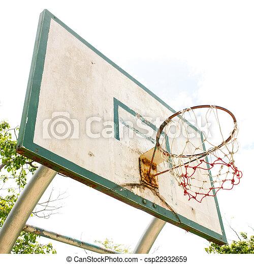 Basketball hoop - csp22932659