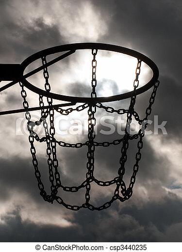 Basketball hoop - csp3440235
