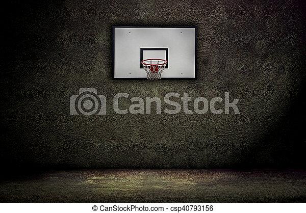 Basketball hoop - csp40793156