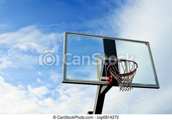 Basketball hoop - csp0814272