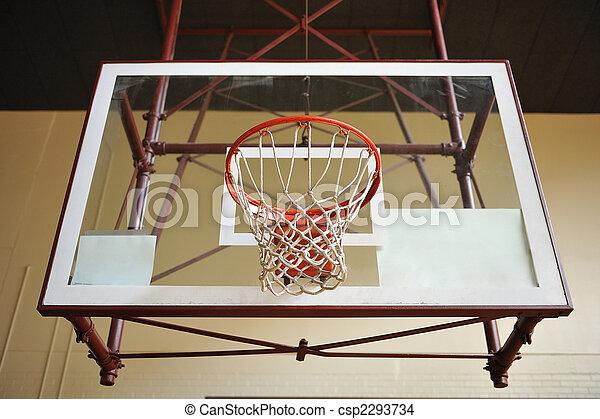 Basketball Hoop - csp2293734