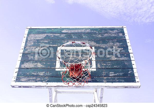 Basketball hoop - csp24345823