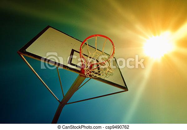 Basketball hoop - csp9490762