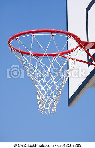 basketball hoop - csp12587299