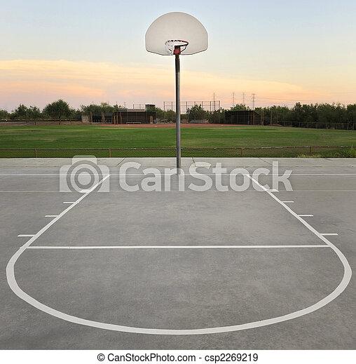 Basketball Hoop - csp2269219