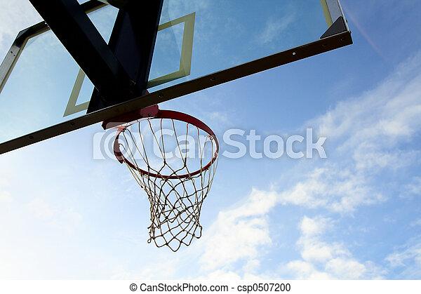 Basketball hoop - csp0507200